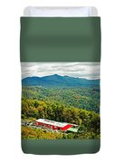 The Orchard At Altapass Duvet Cover