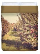 The Orchard Duvet Cover by Lisa Russo