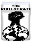 The Orchestrator Cover Duvet Cover