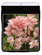 The Orchid Garden Duvet Cover