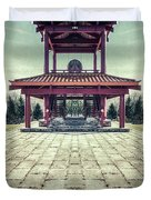 The Oriental Touch Duvet Cover