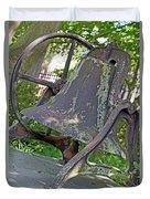 The Original Bell Of Oak Hill Cemetery Duvet Cover