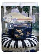 The Original Fish Chair  Duvet Cover
