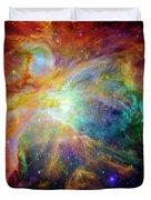 The Orion Nebula Close Up II Duvet Cover