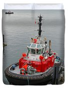 The Osprey Tug Duvet Cover