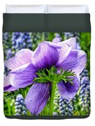 The Other Side Of Anemone   Duvet Cover