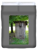 The Outhouse Duvet Cover