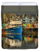 The Pacific Banker Duvet Cover