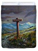 The Paintbrush Trail, Manning Provincial Park, B C Duvet Cover