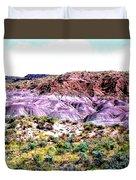 The Painted Desert  In Arizona Duvet Cover