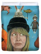 The Painting Maniac Duvet Cover