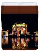 The Palace At Night Duvet Cover