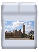 The Palace Of Westminster Duvet Cover