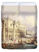 The Palaces Of Venice Duvet Cover