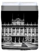 The Palacio Real, Madrid  Duvet Cover