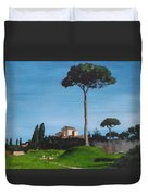 The Palatine Hill, Rome Duvet Cover