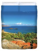 The Palm Forest Of Vai - Crete Duvet Cover