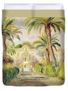 The Palm Trees Duvet Cover