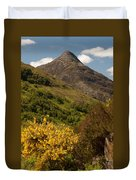 The Pap Of Glencoe Duvet Cover