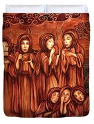 The Parable Of The Ten Virgins Duvet Cover
