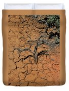The Parched Earth Duvet Cover