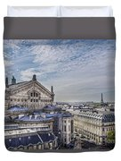 The Paris Opera 5 Art Duvet Cover