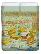The Parisian Novels Or The Yellow Books Duvet Cover