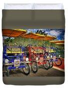 The Park Bikes Duvet Cover
