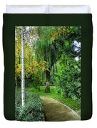 The Park Federico Garcia Lorca Is Situated In The City Of Granada, In Spain. Duvet Cover