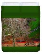 The Parc Des Buttes-chaumont # 1. Duvet Cover