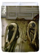 The Parquet Planers - Gustave Caillebotte Duvet Cover