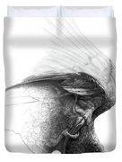 The Parrot Duvet Cover
