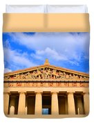 The Parthenon In Nashville Tennessee  Duvet Cover