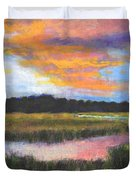 The Passage Into Night Duvet Cover