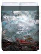 The Passing Storm Duvet Cover