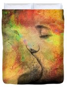 The Passion Of A Kiss 1 Duvet Cover