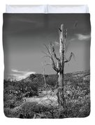 The Past Is Present Duvet Cover