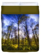 The Pastel Forest Duvet Cover