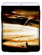 The Path Home Duvet Cover