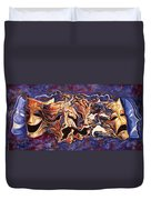 The Path Of Irony Duvet Cover
