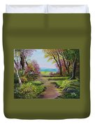 The Pathway To Heaven Duvet Cover
