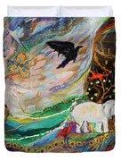 The Patriarchs Series - Ark Of Noah Duvet Cover