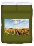 The Peace Of God Duvet Cover