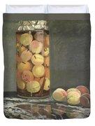 The Peach Glass Duvet Cover