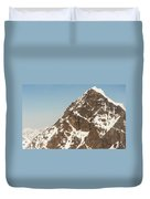 The Summit Of Mount Denali 19,000 Feet  Duvet Cover