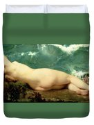 The Pearl And The Wave Duvet Cover