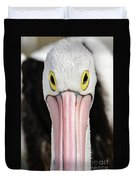 The Pelican Stare Duvet Cover