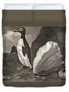 The Penguin With The Conc And Other Duvet Cover