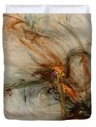 The Penitent Man - Fractal Art Duvet Cover
