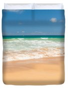 The Perfect Beach - Kapaa Kauai Hawaii Duvet Cover